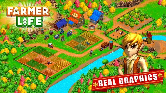 Farmer Village Country Life 🏡 screenshot 8