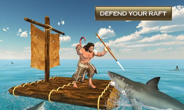 Raft Crafting & Island Survival Simulator poster