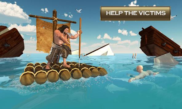 Raft Crafting & Island Survival Simulator apk screenshot