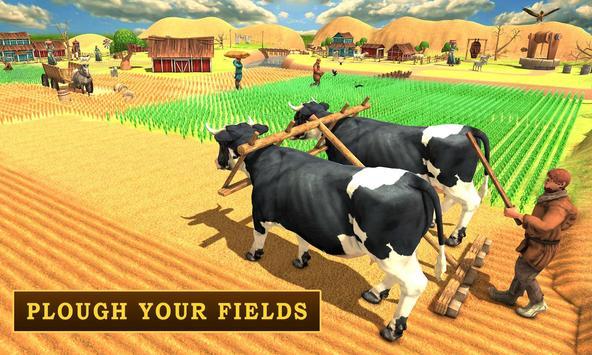USA Village Farmers poster