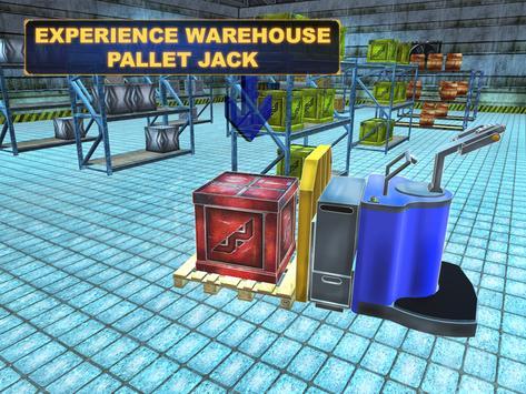 Warehouse Pallet Jack 3D apk screenshot