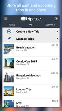 TripCase – Travel Organizer apk screenshot