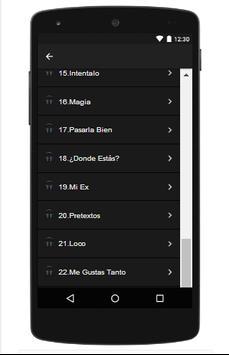 Maluma top letras apk screenshot
