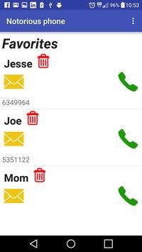 Notorious phone screenshot 2
