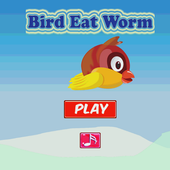 Bird Eat Worm icon