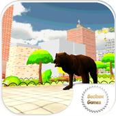 bear city simulator icon