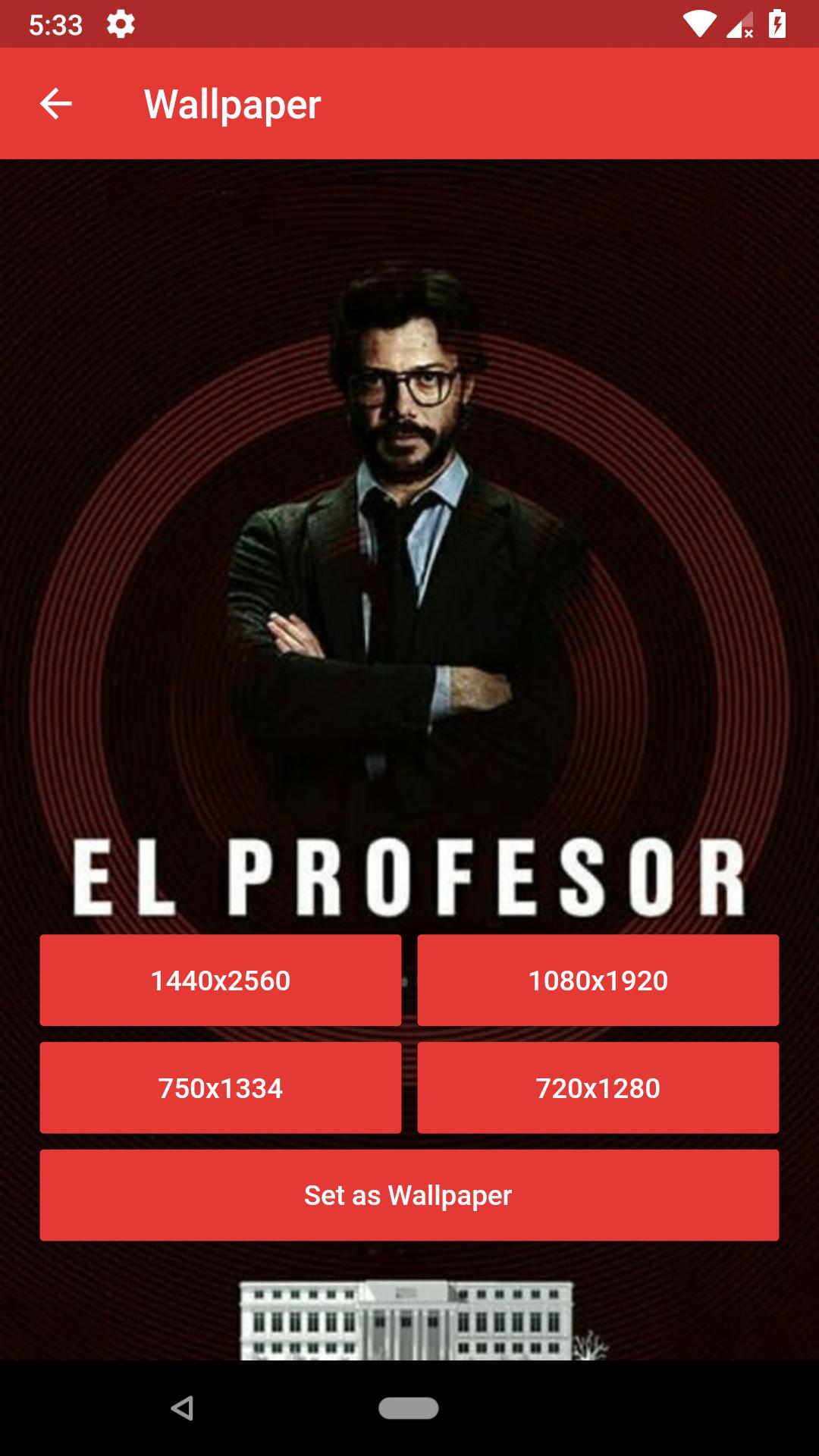 La Casa De Papel Hd Wallpapers For Android Apk Download