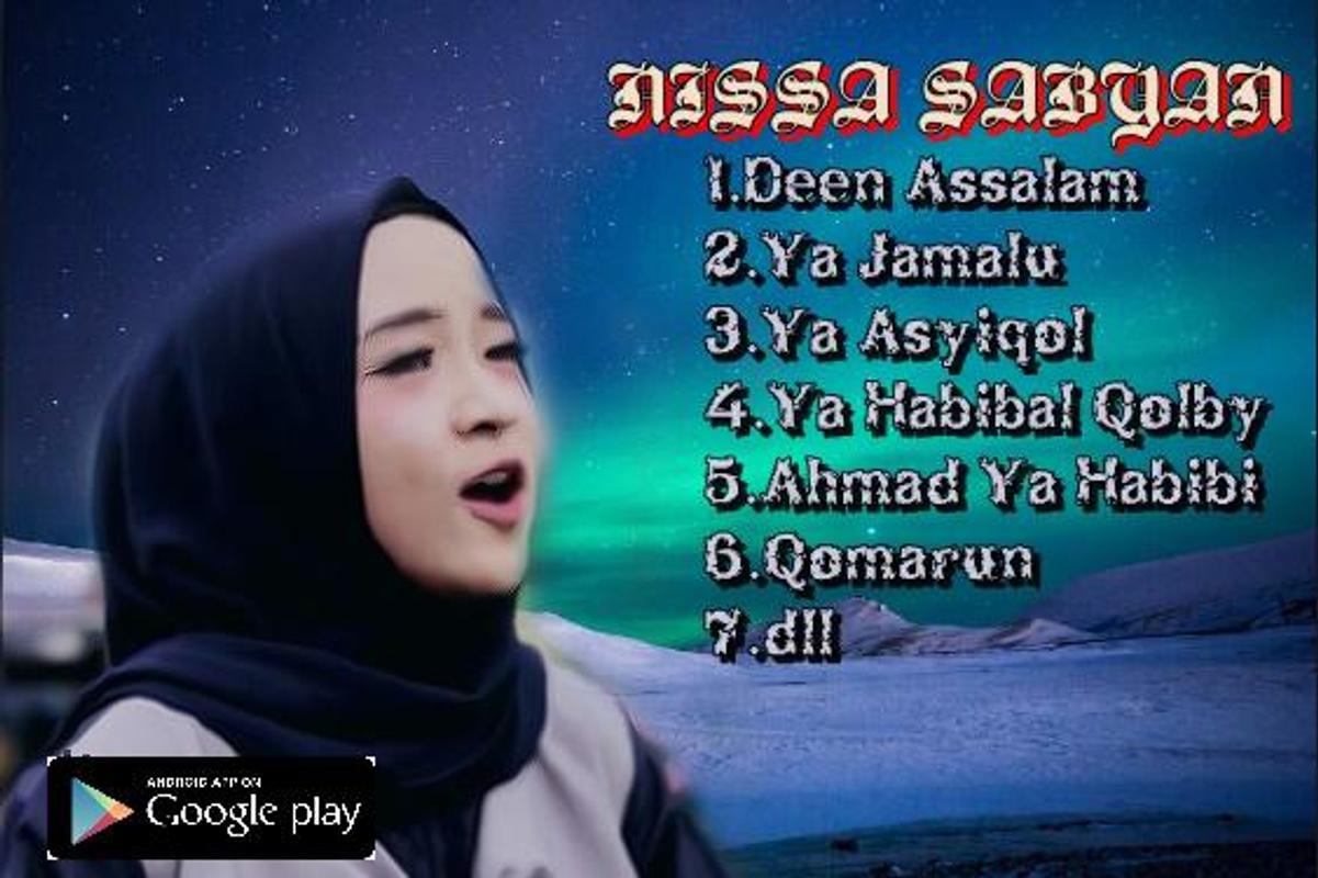 Solawat Nissa Sabyan Qomarun Offline Mp3 For Android Apk Download