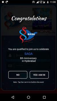 Saga Group of Events screenshot 2