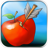 Bow And Arrow Apple Shooting icon