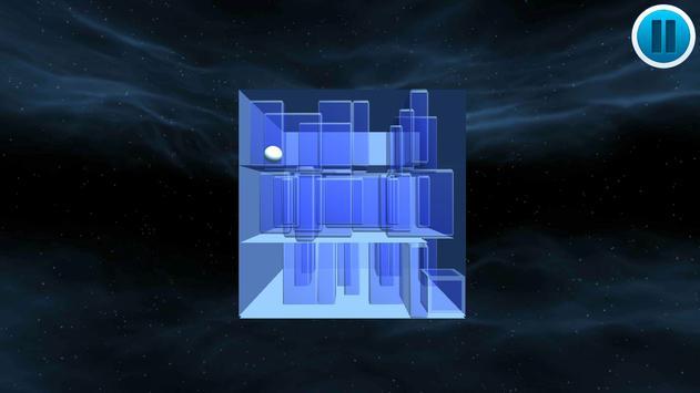 Cube Ball Maze - Labyrinth 3D poster