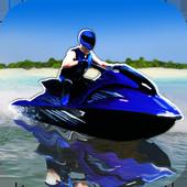 Waverun Bike Drive — Jetski 3D icon