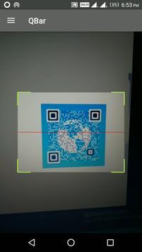QBar - Qr and Barcode Scanner poster