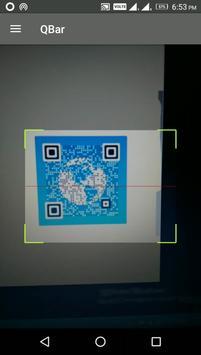 QBar - Qr and Barcode Scanner screenshot 1