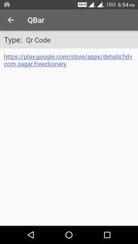 QBar - Qr and Barcode Scanner screenshot 4