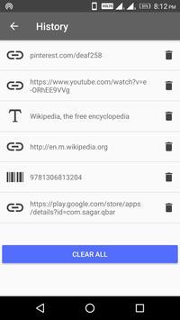 QBar - Qr Code Scanner and Barcode Scanner screenshot 4