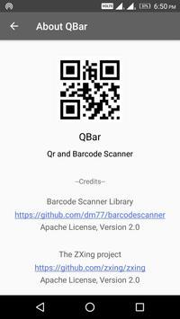 QBar - Qr and Barcode Scanner screenshot 6