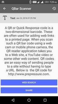 QBar - Qr Code Scanner and Barcode Scanner screenshot 7