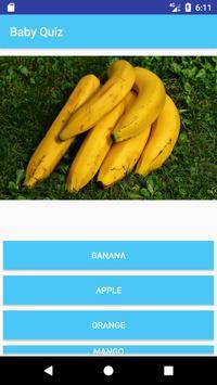 Baby Fun Quiz 2018 apk screenshot