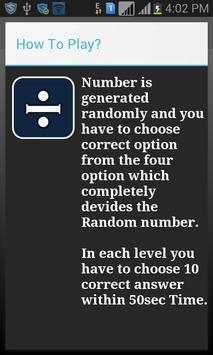 Divisor Game screenshot 1