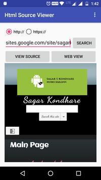 HTML Source Viewer screenshot 2
