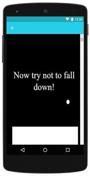 Dont fall apk screenshot