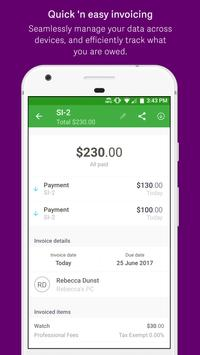 Sage Expenses & Invoices apk screenshot