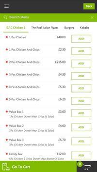 Saghir Express  food ordering apk screenshot