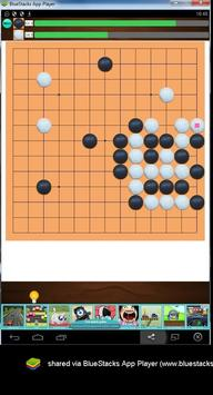 Go or Weiqi Game Board 13x13 apk screenshot