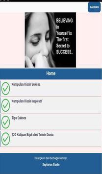 Sukses dan Inspirasi poster
