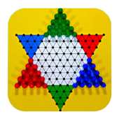 Halma or Chinese checkers icon