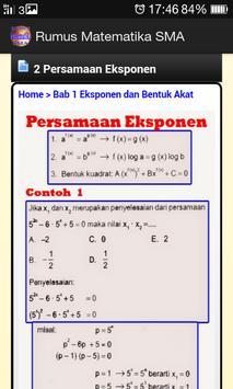 Rumus Matematika SMA apk screenshot