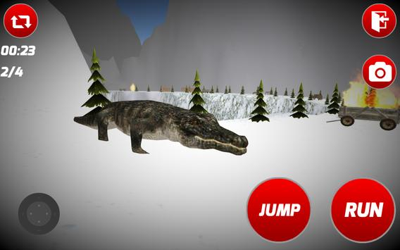 Angry Crocodile Simulator apk screenshot