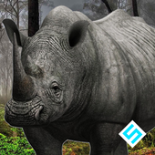 Angry Rhino Simulator icon