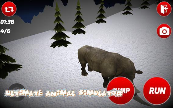 Angry Rhino Simulator apk screenshot