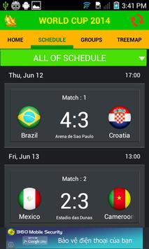 World Cup 2014 screenshot 1