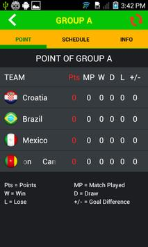 World Cup 2014 screenshot 3