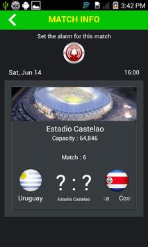 World Cup 2014 screenshot 4