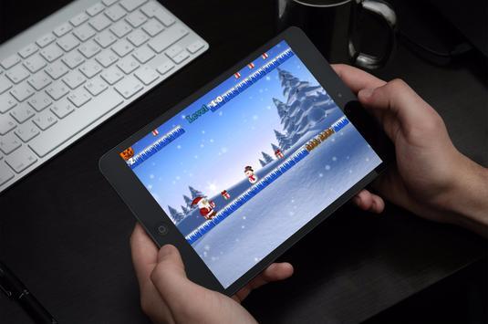Santa Jump:Adventure Christmas apk screenshot