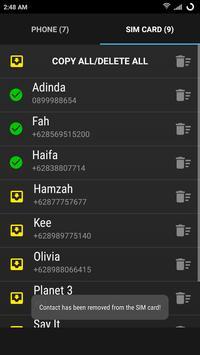Copy To SIM screenshot 5