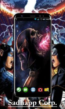 Avenger Infinity War Wallpaper Art screenshot 4