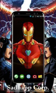 Avenger Infinity War Wallpaper Art screenshot 1