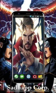 Avenger Infinity War Wallpaper Art screenshot 2