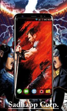 Avenger Infinity War Wallpaper Art screenshot 3