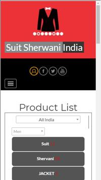SuitSherwaniIndia poster