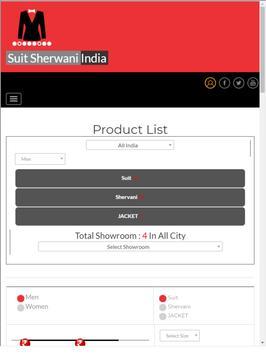 SuitSherwaniIndia screenshot 1