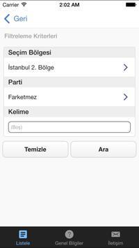 Seçim 2015 screenshot 1