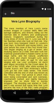 Vera Lynn Music&Lyrics screenshot 1