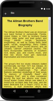 The Allman Brothers Band Music screenshot 1