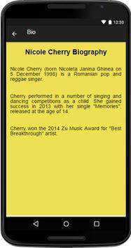 Nicole Cherry Music&Lyrics screenshot 1